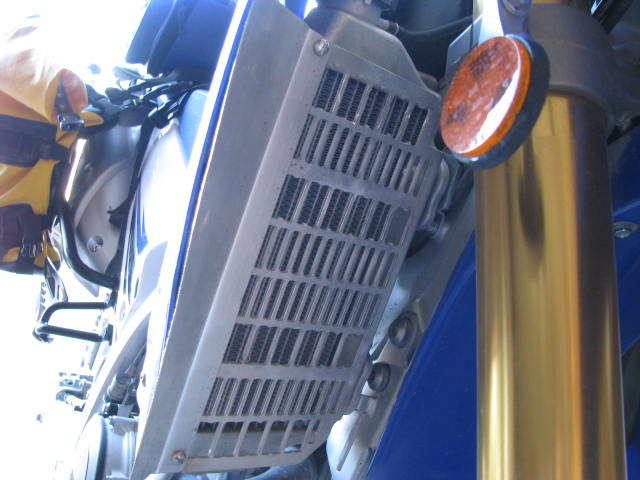 Overheating with Flatland radiator guard Radiat10