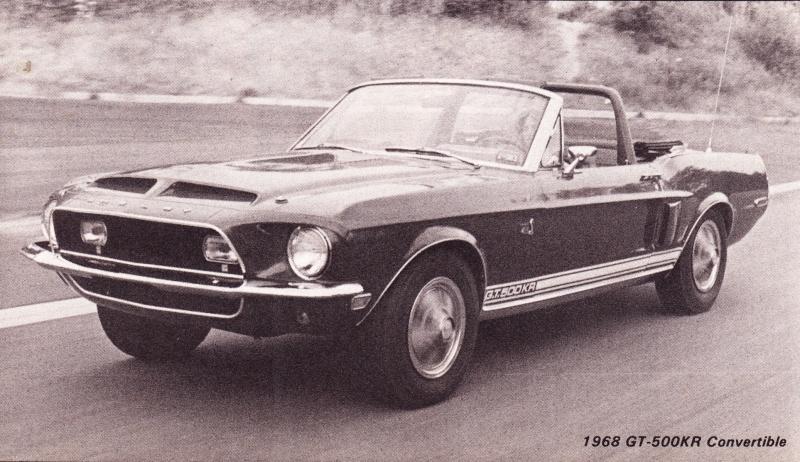 Quelque photo original de Shelby 1968 Magazi10