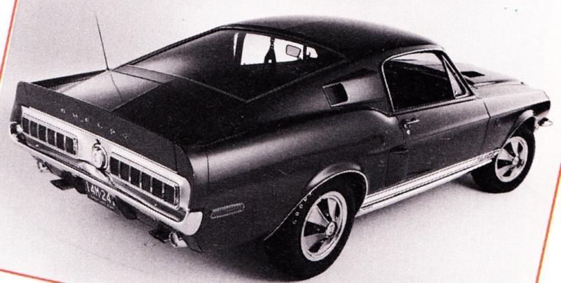 Quelque photo original de Shelby 1968 Shelby12