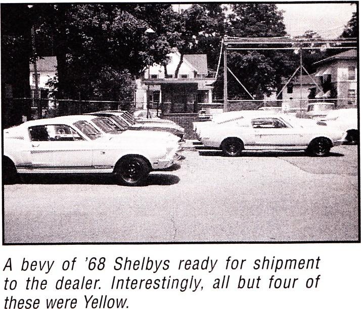 Quelque photo original de Shelby 1968 Shelby15