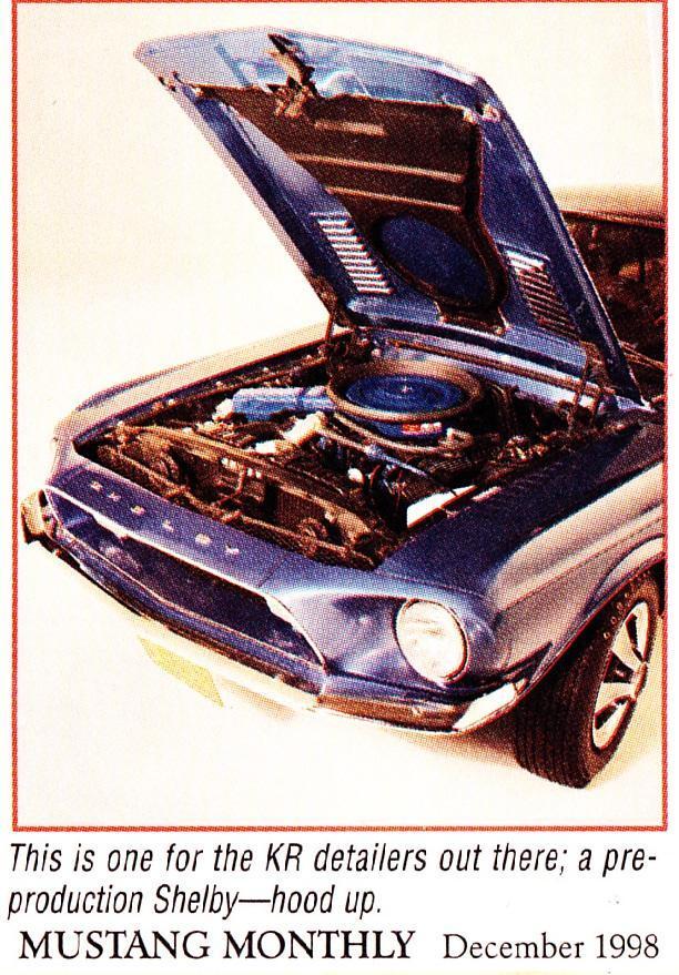 Quelque photo original de Shelby 1968 Shelby19