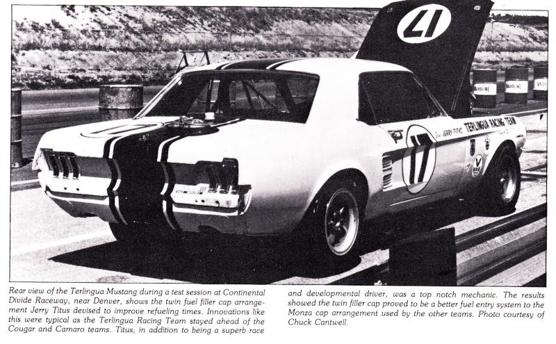 L'équipe de course Terlingua de Shelby-American en 1967 Terlin12