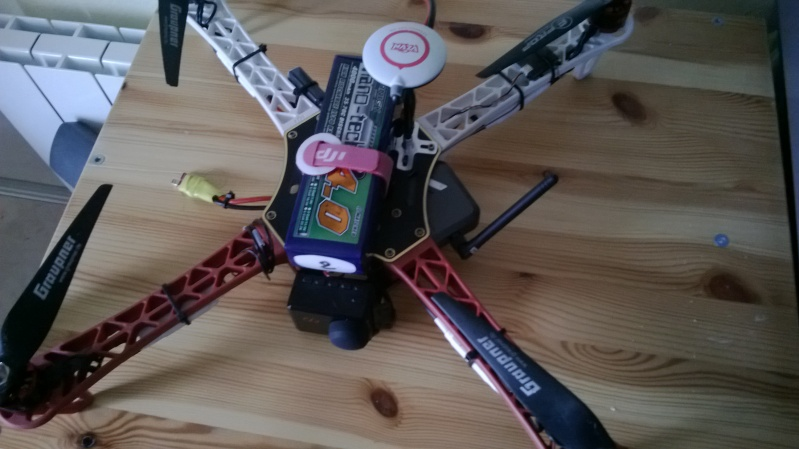 quadri DJI F450 naza+GPS Wp_20114