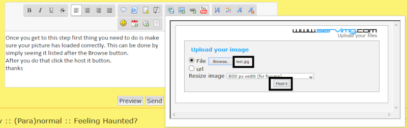 Updated instructions on how to post pictures Test410