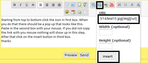 Updated instructions on how to post pictures Test610