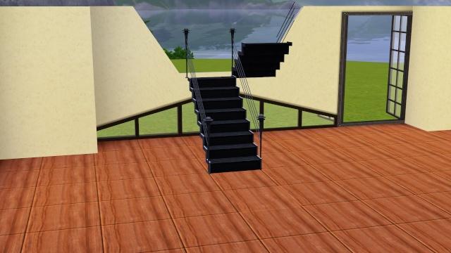 [Intermédiaire] Construire un escalier à palier Screen14