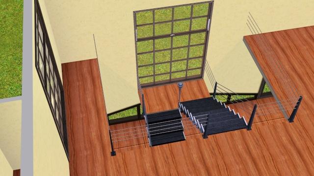 [Intermédiaire] Construire un escalier à palier Screen24