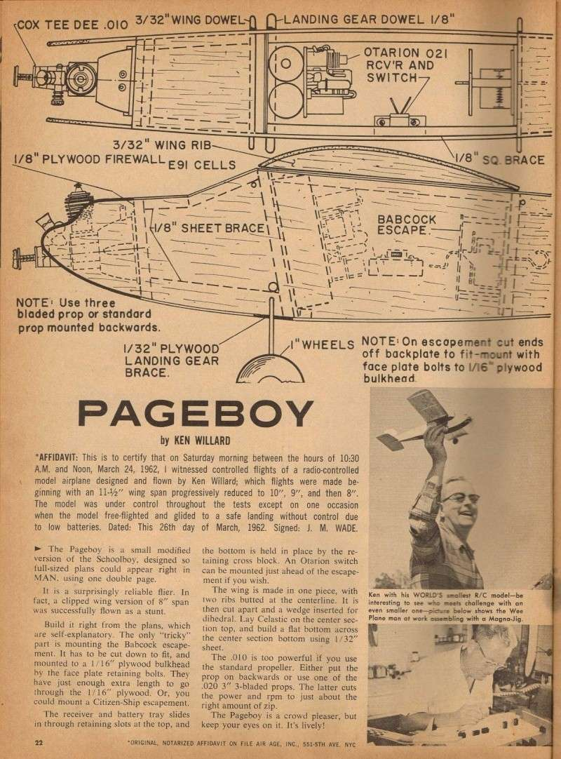 "Ken Willard's ""Pageboy"" and Walt Mooney's Peanut Scale ""Wittman Tailwind"" 1_32"