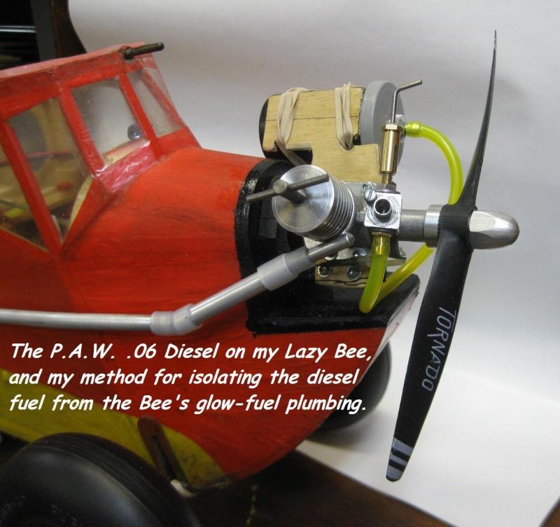 P.A.W. .09 Diesel Lazy Bee Installation 4_18