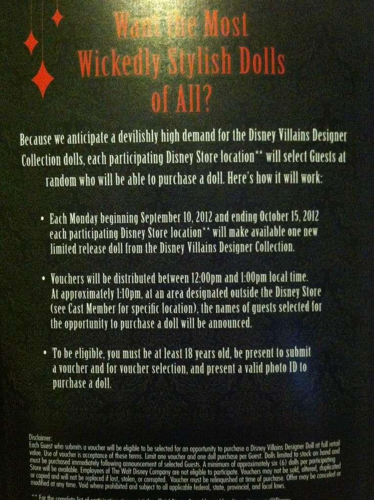 Disney Villains Designer Collection (depuis 2012) - Page 5 Photo310