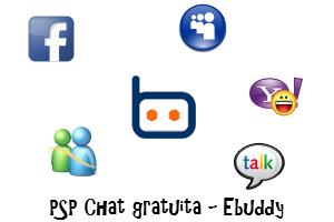 Chattare su MSN, Facebook, Yahoo e Talk sulla PSP - eBuddy Cqdl10