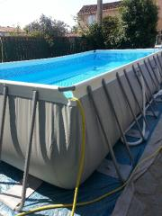 eau tres verte, traitement en cours 20130710