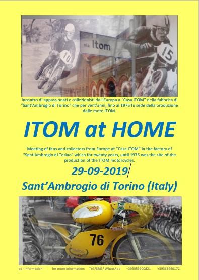 "1er Meeting ""ITOM"" dans les anciennes usines de Sant'Ambrogio di Torino ! Affich12"