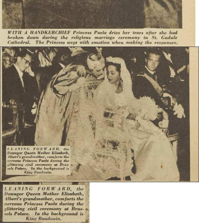 King Albert II (1934-) and Queen Paola (1937-) Articl11