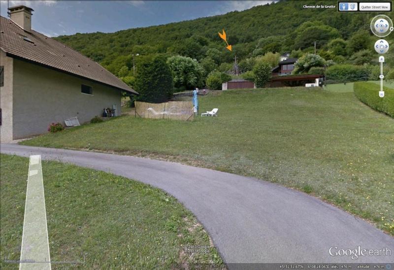 Les répliques de la grotte de Lourdes Grotte12