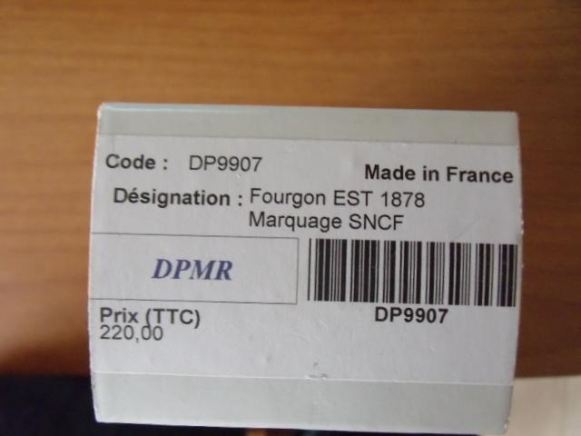 fourgon est 1878 sncf Dscf4955