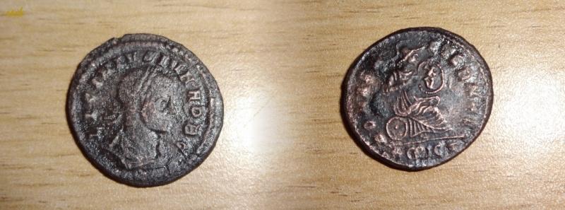 Centenionalis rare de LICINIUS Junior (317-324) ROMAE AETERNAE  X/V Luci12