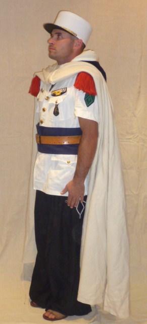 Caporal de la 4éme Compagnie Saharienne Portée de la Légion, en tenue de parade à Colomb-Béchar (1956) P1030222