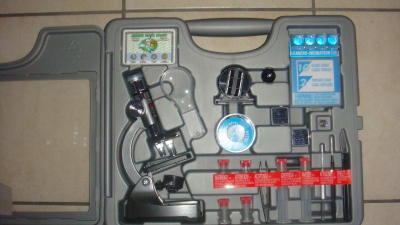 Microscope pour identifier la microfaune Dsc04414