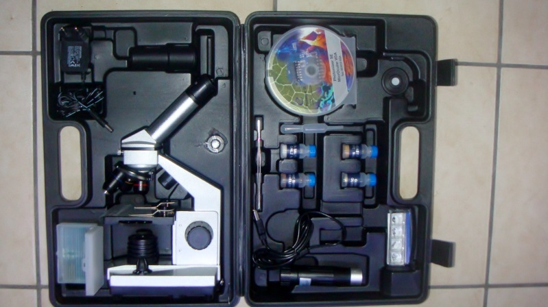 Microscope pour identifier la microfaune Dsc04415