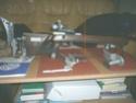 Stabilité, réglages, point d'équilibre de la carabine debout P1010710