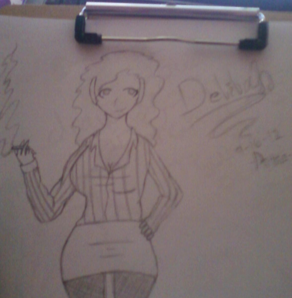 Dei-chan's High Crappity Art Corner Delila10