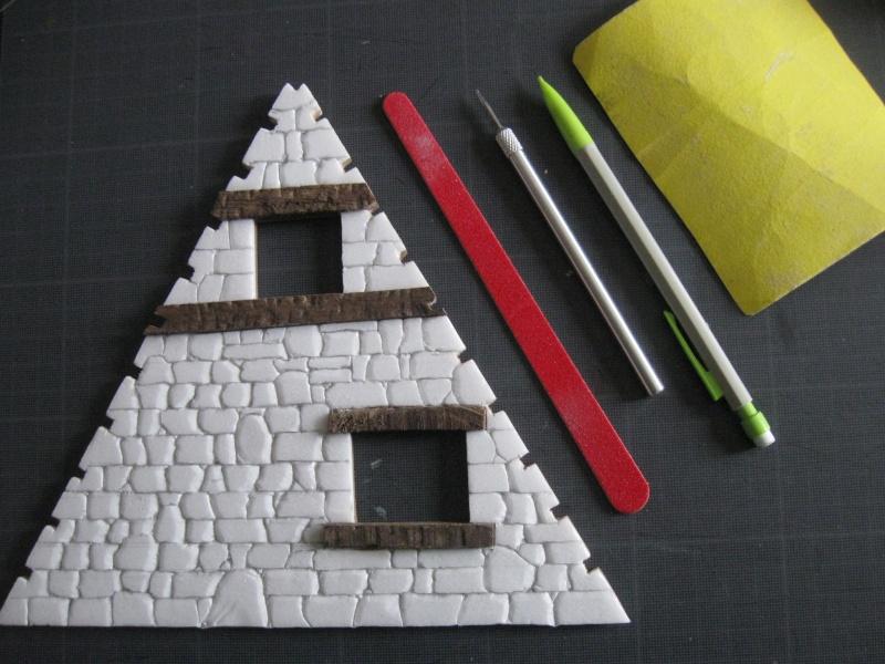 Petite maquette du village. Img_5015