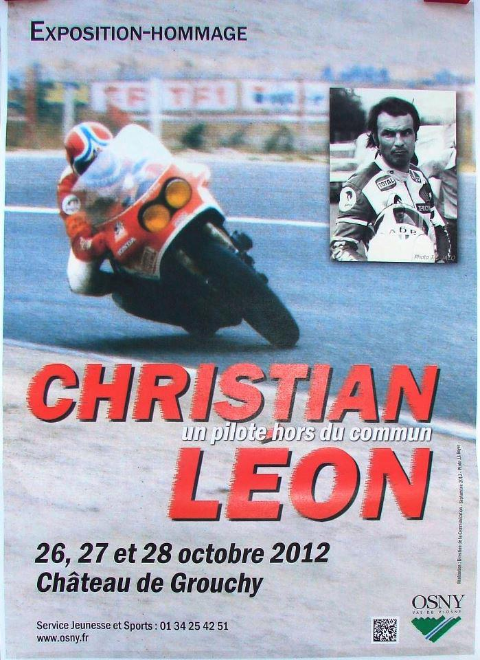 HOMMAGE CHRISTIAN LÉON Affich10