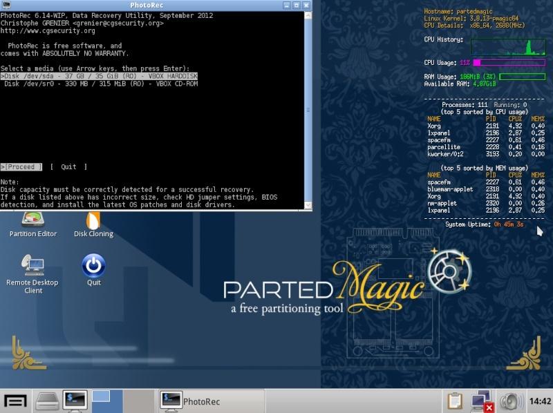 Ultimate Boot CD v5 : Tester son matériel, modifier une partition, supprimer un mot de passe de session, récupération de données... Choix_10