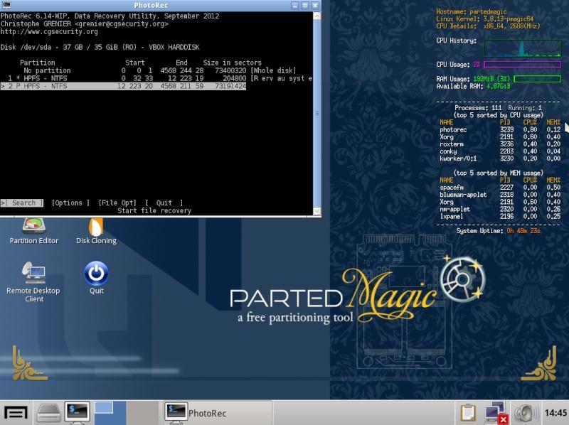 Ultimate Boot CD v5 : Tester son matériel, modifier une partition, supprimer un mot de passe de session, récupération de données... Choix_11
