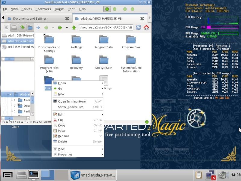 Ultimate Boot CD v5 : Tester son matériel, modifier une partition, supprimer un mot de passe de session, récupération de données... Copy-p10