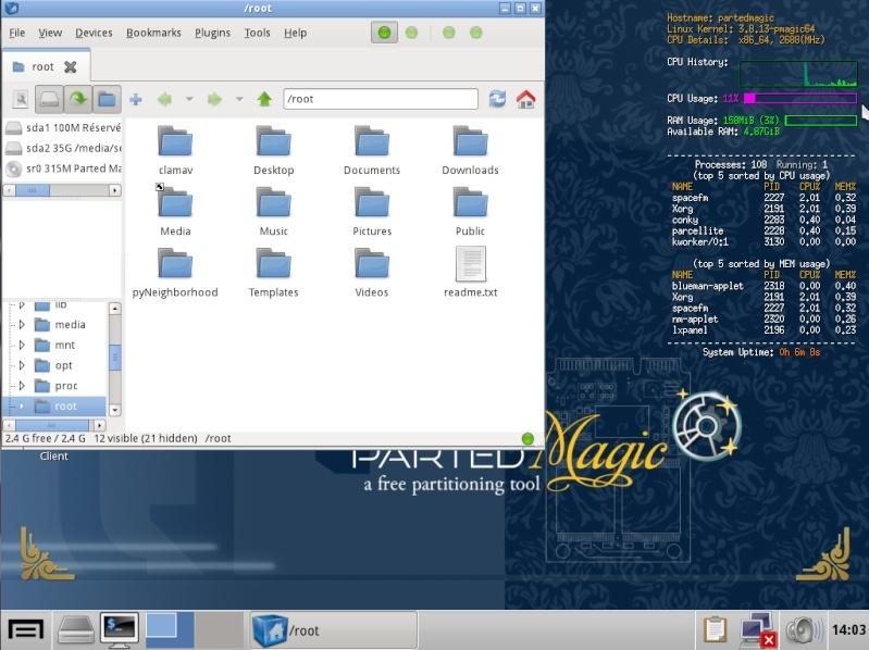 Ultimate Boot CD v5 : Tester son matériel, modifier une partition, supprimer un mot de passe de session, récupération de données... File_m10