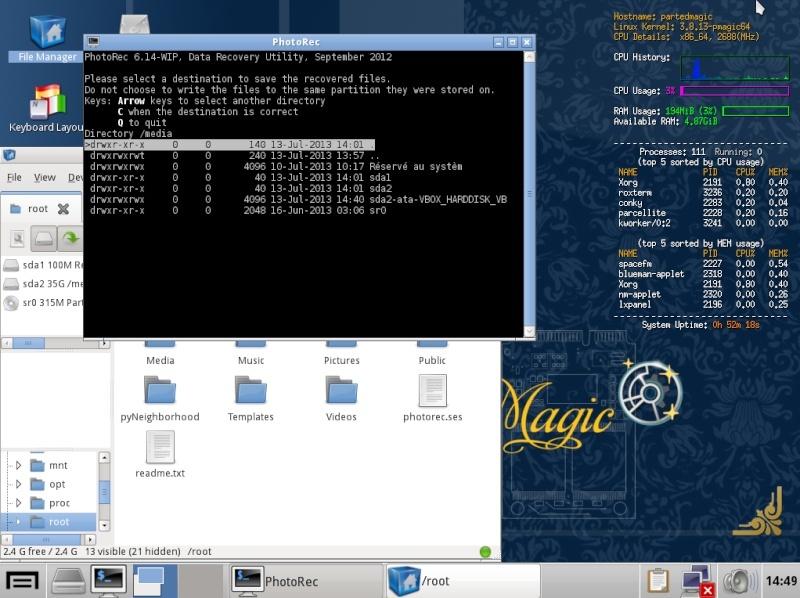 Ultimate Boot CD v5 : Tester son matériel, modifier une partition, supprimer un mot de passe de session, récupération de données... Lieux_10