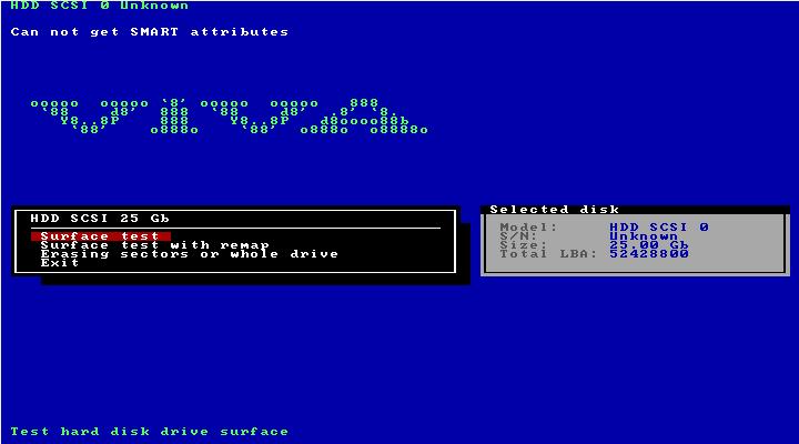 Ultimate Boot CD v5 : Tester son matériel, modifier une partition, supprimer un mot de passe de session, récupération de données... Vivard12