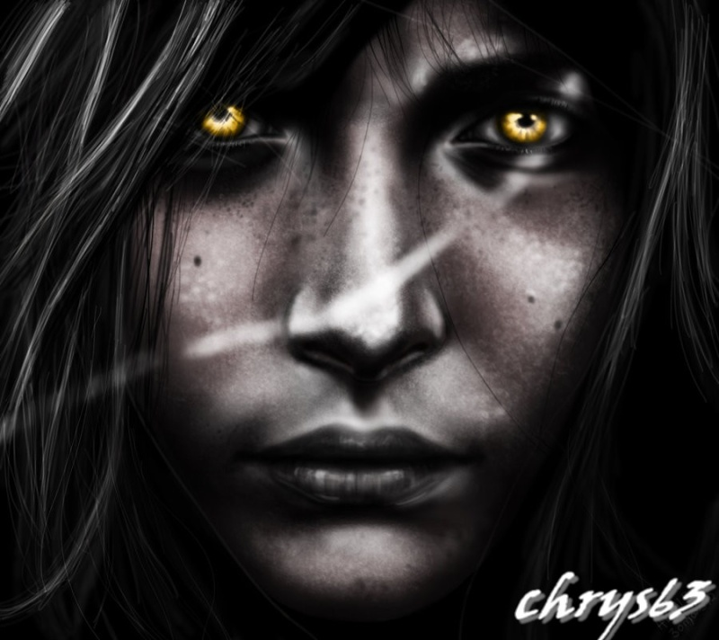 Avatars Portraits en Noir et Blanc Eyes_o10