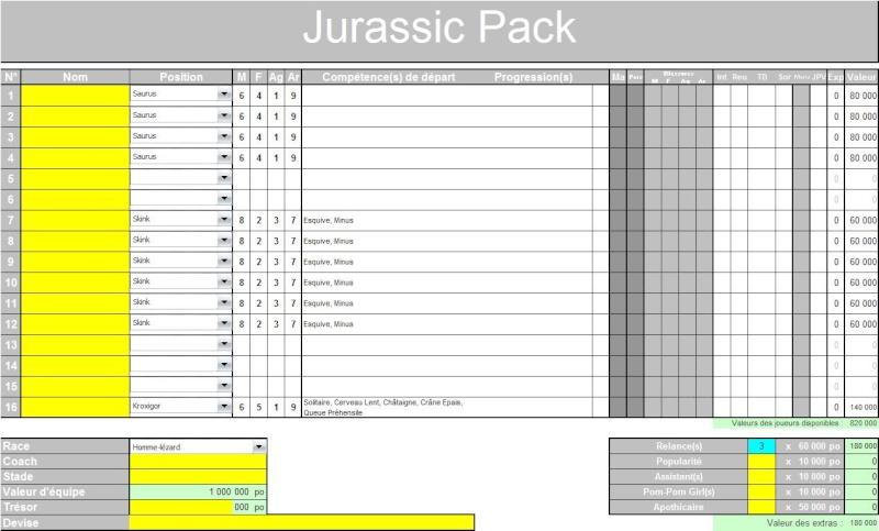 "Le ""Jurassic Pack"" d'Yriel Team_y10"