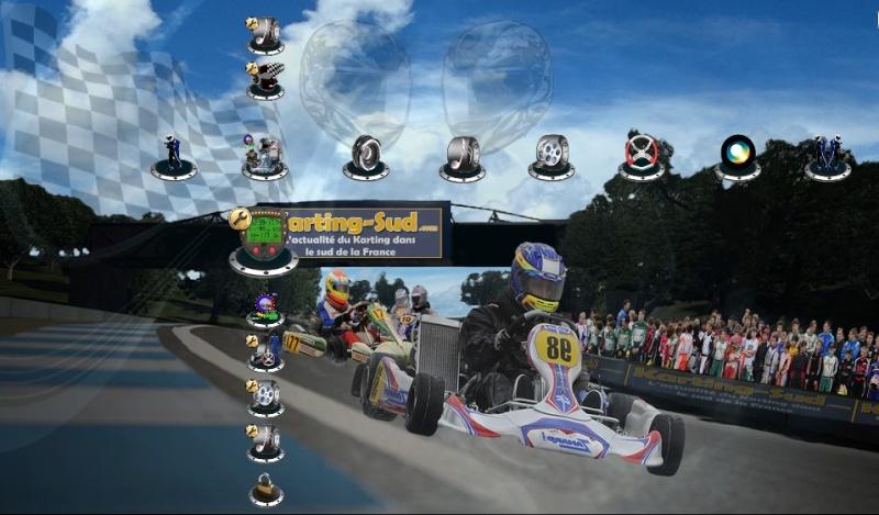 """Thème Dynamique pour Console PS3 """" Karting.Sud """" Kartin11"""