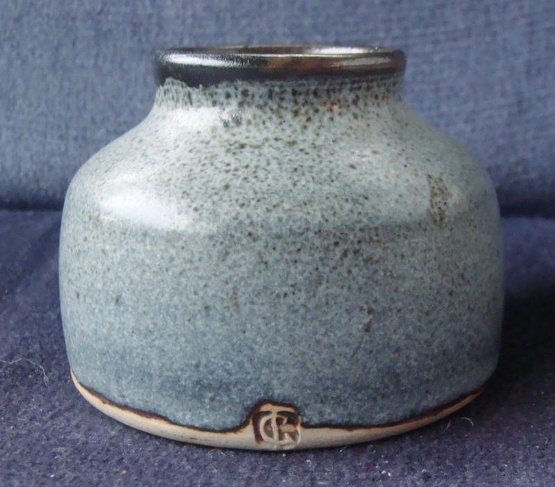 Lovely little spice pot find that happens to be Len Castle!! Dsc02519