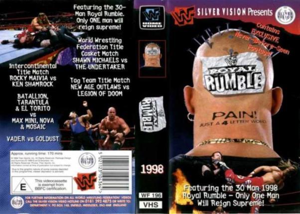 [Vidéo] Anciens PPV de la WWE, WWF et WCW + divers DVD et documentaires en stream 13865310