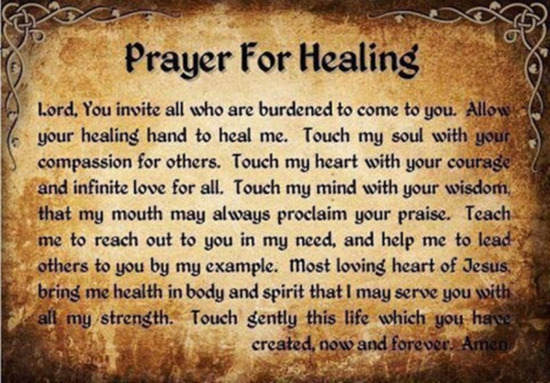 Prayer For Healing 56044510