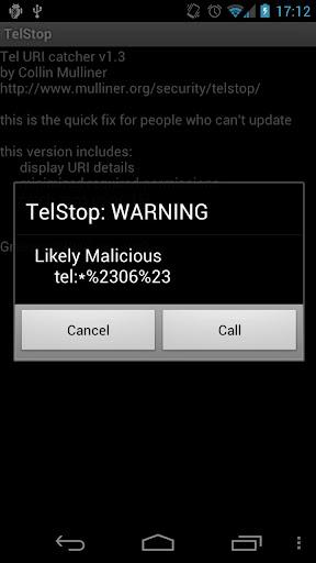 [SOFT] TELSTOP : QuickFix permettant de protéger les téléphones contre les attaques USSD [Gratuit] Unname10