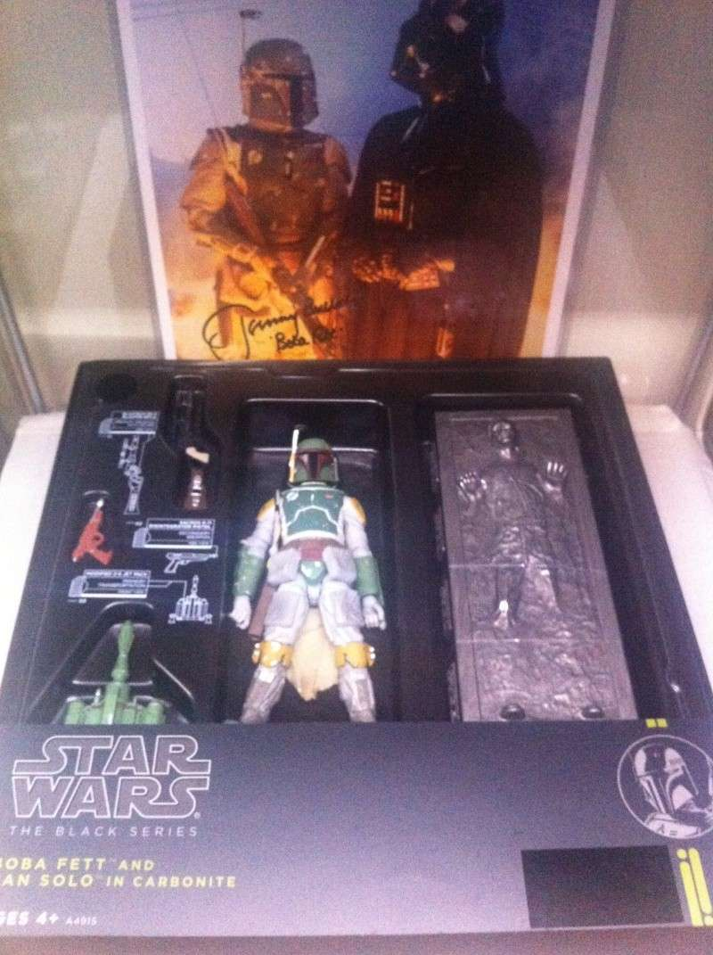 "SOLD: 6"" Black Series Boba Fett and Han Solo in Carbonite Img_5316"