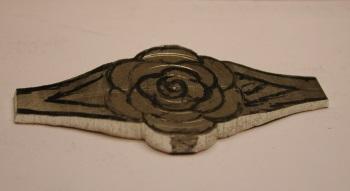 Bague Argent motif fleur Dscn2213