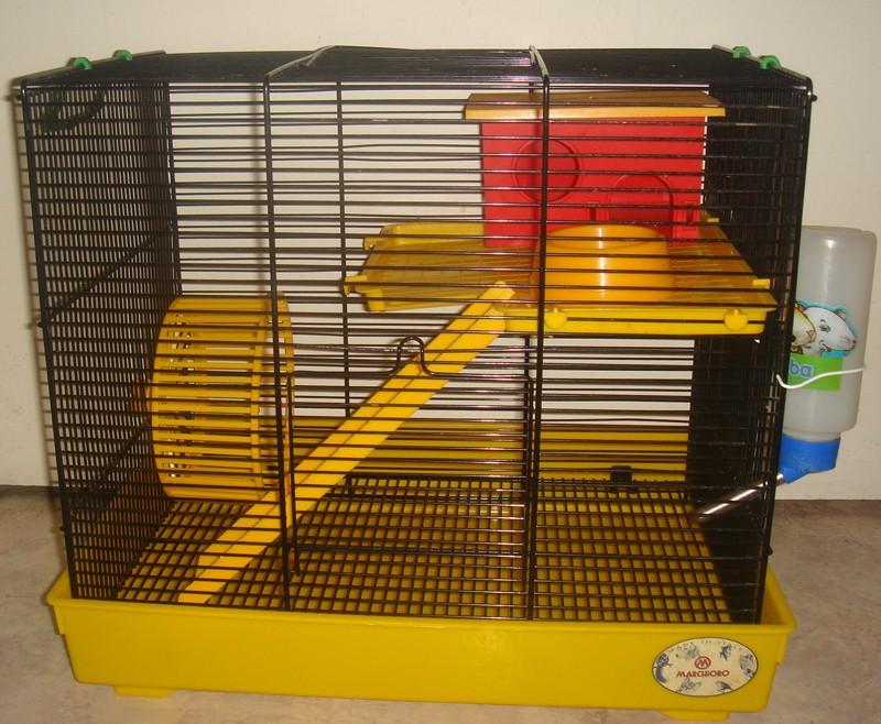 Vente cage et accessoires pour hamster Marchi10