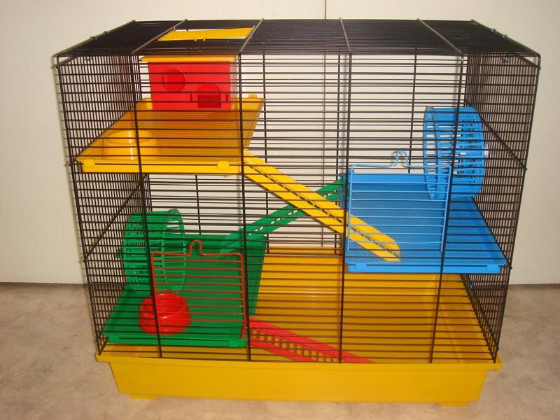 Vente cage et accessoires pour hamster Teddy_10