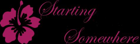Starting Somewhere