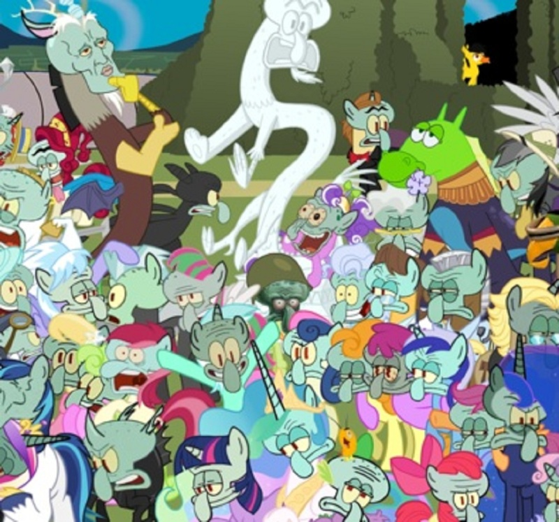 My Little Squidward: Season 2 Poster 410