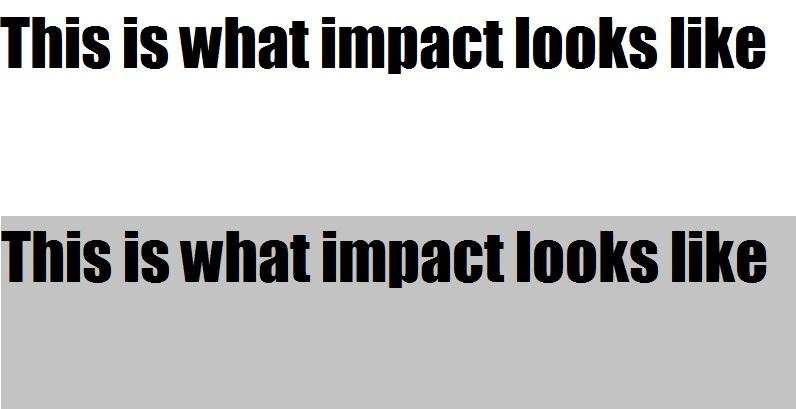 'Sup? Impact10