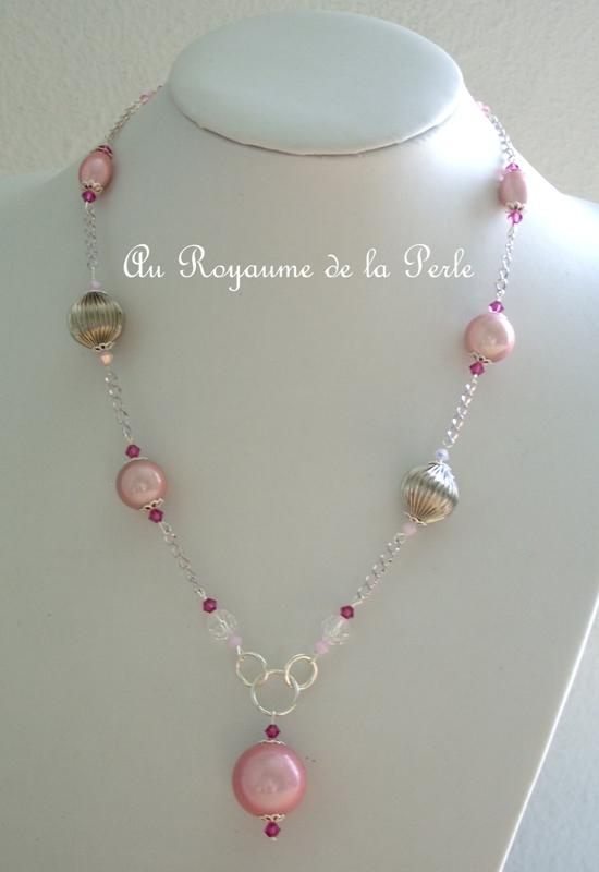 Une de mes créations en rose Collie11