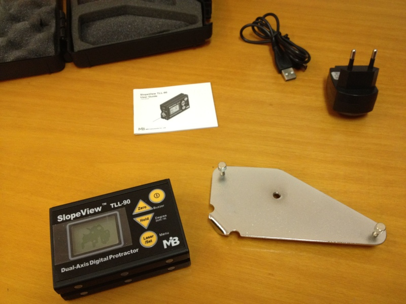 Inclinomètre 2 axes digital Incin012